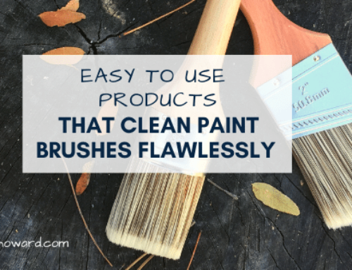 The 4 Easy to Use Products that Clean Paint Brushes Flawlessly