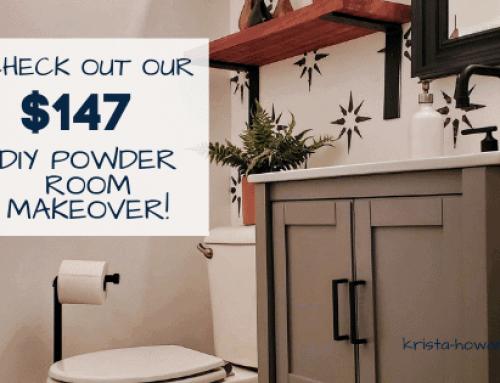 The 8 Ways we Saved Over $1,200 by DIYing our Powder Room Makeover