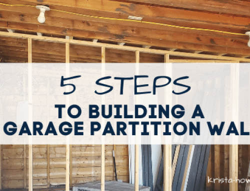 5 Easy Steps to Building a Garage Partition Wall with Studs