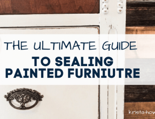 The Ultimate Guide to Sealing Painted Furniture