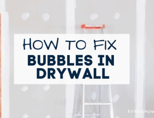 How to Fix Bubbles in Drywall Tape