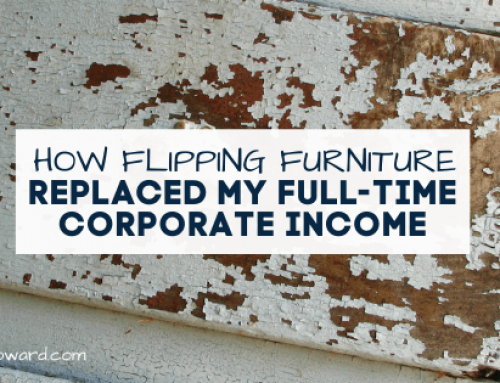 How Furniture Flipping Replaced my Full-time Corporate Income
