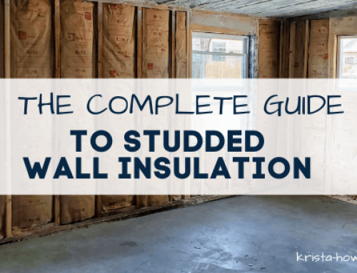 The Complete Guide to Studded Wall Insulation